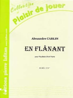 Alexandre Carlin - Strolling - Oboe and piano - Sheet Music - di-arezzo.com