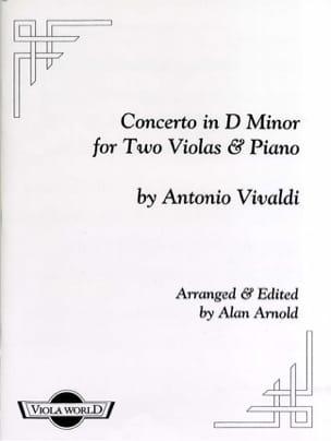 VIVALDI - Concerto In Re Min. 2 Altos and Piano - Sheet Music - di-arezzo.co.uk