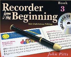 Recorder From The Beginning Book 3 - John Pitts - laflutedepan.com