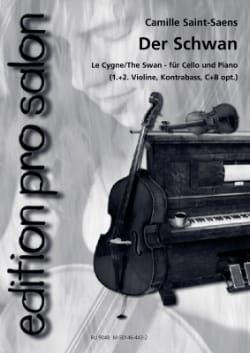 Camille Saint-Saëns - Der Schwan - Sheet Music - di-arezzo.co.uk