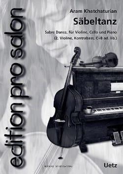 Danse du Sabre KHATCHATURIAN Partition Trios - laflutedepan