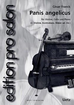 Panis Angelicus - César Franck - Partition - Trios - laflutedepan.com
