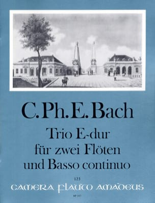 Carl Philipp Emanuel Bach - Trio Sonata E Major Wq 162 - Sheet Music - di-arezzo.com