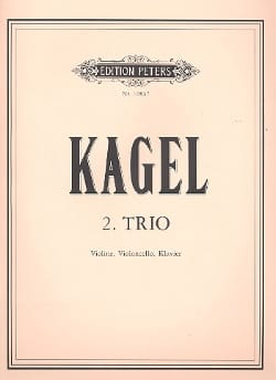 Mauricio Kagel - Second Trio - Violin, Cello and Piano - Sheet Music - di-arezzo.com