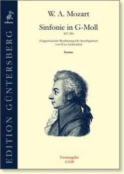 Wolfgang Amadeus Mozart - Sinfonie En Sol Min. - Kv 550 - Partition - di-arezzo.fr