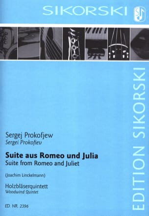 Serge Prokofiev - Romeo and Julia Suite Linckelmann - Sheet Music - di-arezzo.co.uk