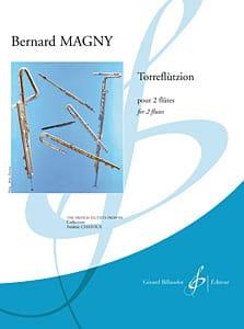 Torreflutzion Bernard Magny Partition Flûte traversière - laflutedepan