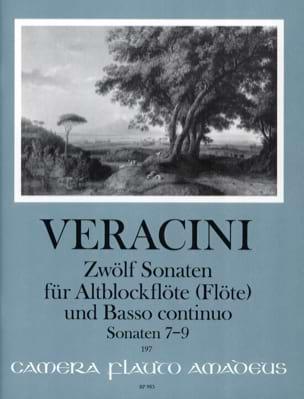 Francesco Maria Veracini - 12 Sonates Vol.3 - (7-9) - Partition - di-arezzo.fr