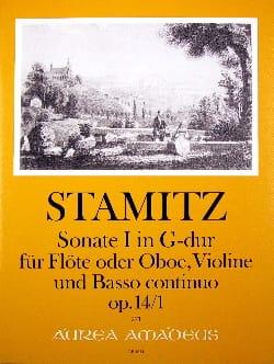 Triosonate N°1 En Sol Maj. Op.14 N°1 - Carl Stamitz - laflutedepan.com