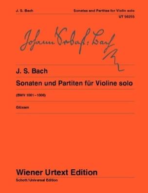 BACH - Sonates et Partitas BWV 1001-1006 - Partition - di-arezzo.fr