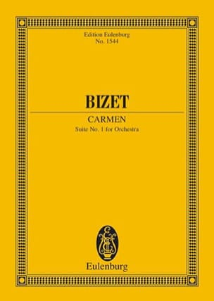 BIZET - Carmen - Suite N ° 1 - Sheet Music - di-arezzo.co.uk