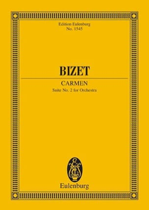 BIZET - Carmen - Suite N ° 2 - Sheet Music - di-arezzo.co.uk