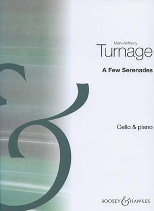 Mark-Anthony Turnage - A Few Serenades - Partition - di-arezzo.fr
