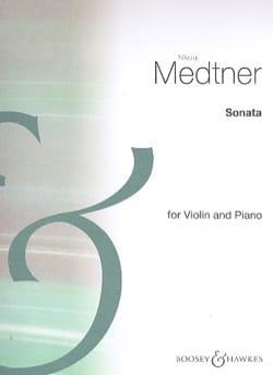 Nicolai Medtner - Sonate N° 1 Op. 21 - Partition - di-arezzo.fr