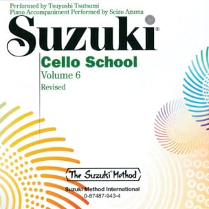Cello School Vol.6 - CD Seul - SUZUKI - Partition - laflutedepan.com