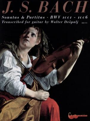 BACH - Sonates et Partitas BWV 1001-1006 - Transcr. Guitare - Partition - di-arezzo.fr