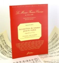 Second Livre De Sonates Pour le Violon Op.IV - laflutedepan.com