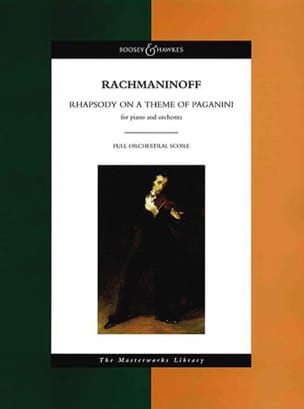 Rhapsody On A Theme Of Paganini - RACHMANINOV - laflutedepan.com