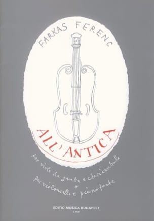 Ferenc Farkas - All'antica - Partition - di-arezzo.fr