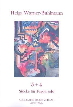 Helga Warner-Buhlmann - 5 + 4 - Partition - di-arezzo.fr