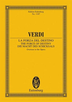 Giuseppe Verdi - La Force du Destin, Ouverture - Conducteur - Partition - di-arezzo.fr