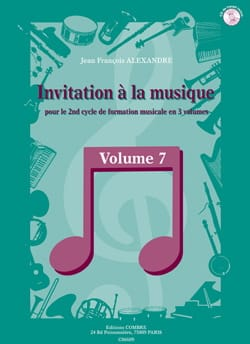 Invitation A la Musique - Volume 7 - laflutedepan.com