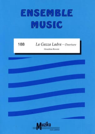 La Gazza Ladra - Ouverture Gioacchino Rossini Partition laflutedepan