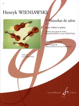 2 Mazurkas de Salon Op. 12 WIENAWSKI Partition Violon - laflutedepan