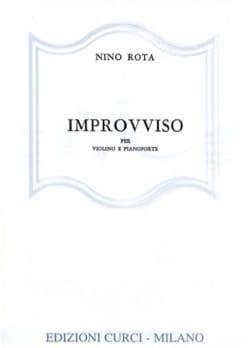 Nino Rota - Improvviso - Sheet Music - di-arezzo.co.uk