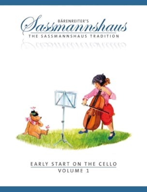 egon sassmannshaus - Early Start On The Cello Volume 1 - Partition - di-arezzo.fr