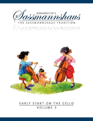 egon sassmannshaus - Early Start On The Cello Vol.3 - Sheet Music - di-arezzo.co.uk