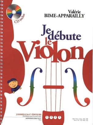 Valérie Bime-Apparailly - I start the violin - Sheet Music - di-arezzo.com