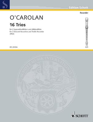 Terence O'Carolan - 16 Trios - Sheet Music - di-arezzo.co.uk