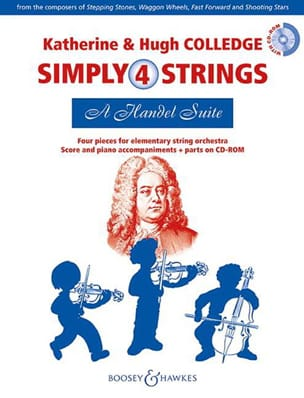 - A Handel Suite - Simply 4 Strings - Partition - di-arezzo.fr