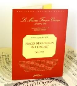 Jean-Philippe Rameau - Harpsichord pieces in Concert - Sheet Music - di-arezzo.com