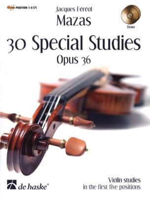 Jacques Féréol Mazas - 30 Etudes Spéciales Op.36 - Partition - di-arezzo.fr