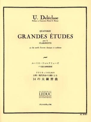 Ulysse Delécluse - 14 Hauptstudien - Noten - di-arezzo.de