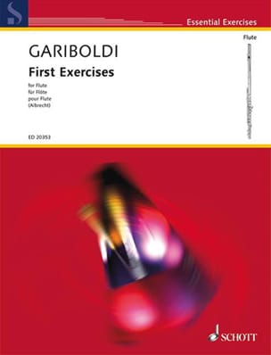 Giuseppe Gariboldi - First Exercises For Flute - Partition - di-arezzo.fr
