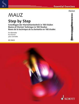 Rudolf Mauz - Step By Step For Clarinet - Partition - di-arezzo.fr