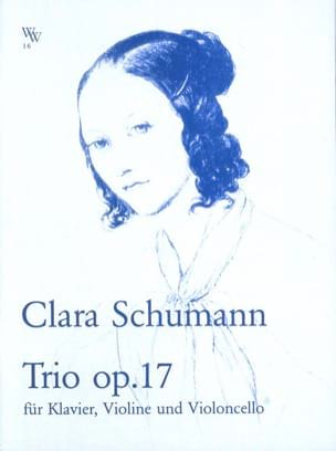 Clara Schumann - Trio Op.17 - Violon, Cello et Piano - Partition - di-arezzo.fr