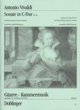 Antonio Vivaldi - Sonate en Do Majeur, Rv 48 - Partition - di-arezzo.fr