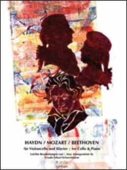 Haydn, Mozart, Beethoven pour Violoncelle et Piano - laflutedepan.com