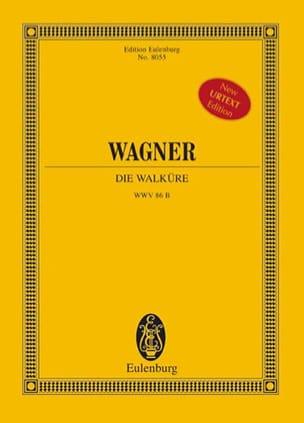 Die Walküre Wwv 86b WAGNER Partition Grand format - laflutedepan