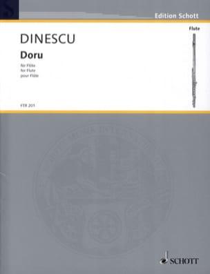 Violeta Dinescu - Doru (1992) - Partition - di-arezzo.fr