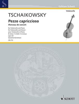 TCHAIKOVSKY - Pezzo Capriccioso Op.62 In Si Min. - Sheet Music - di-arezzo.co.uk