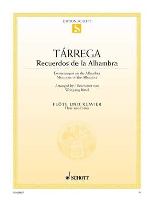 Francisco Tarrega - Recuerdos de la Alhambra - Partition - di-arezzo.fr
