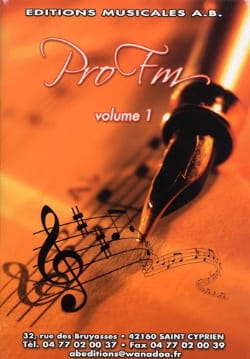 Pro FM Volume 1 - Sheet Music - di-arezzo.com