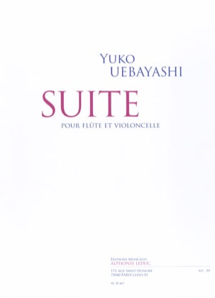 Yuko Uebayashi - Suite for Flute and Cello - Sheet Music - di-arezzo.co.uk