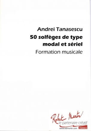 Andrei Tanasescu - 50 Solfegories Of Modal And Serial Type - Sheet Music - di-arezzo.com