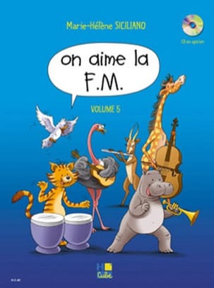 On Aime la FM - Volume 5 SICILIANO Partition Solfèges - laflutedepan